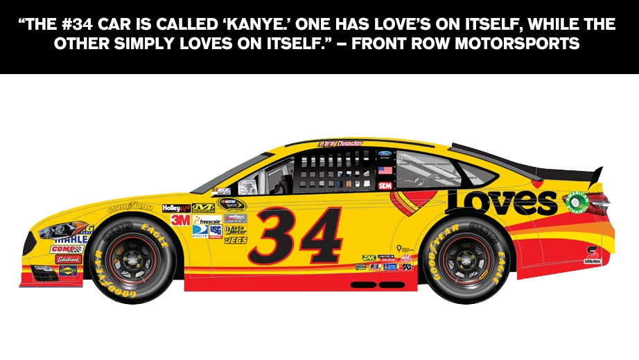 Nascarcasm What Do Other Drivers Name Their Cars Official Site