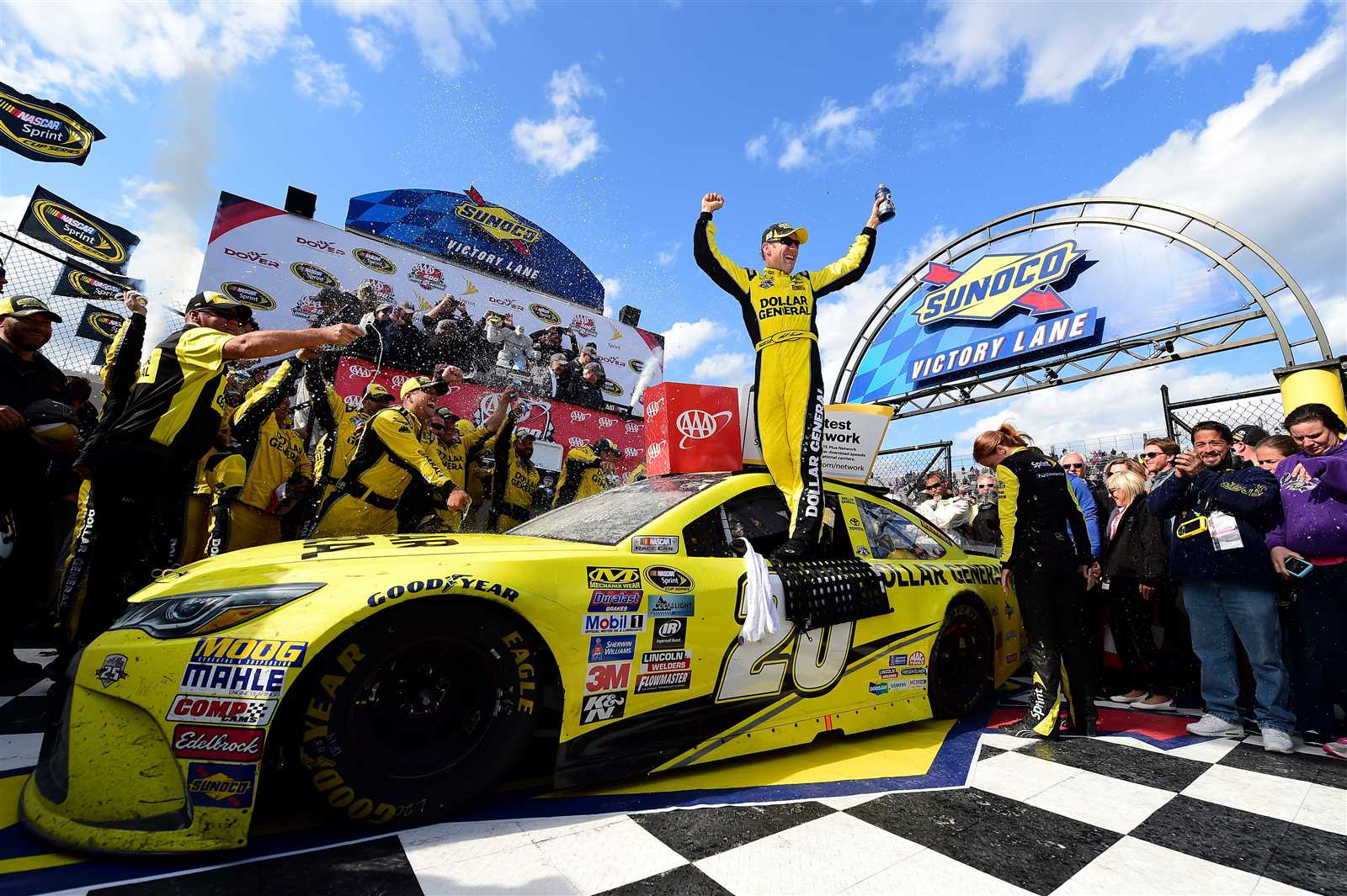 Matt Kenseth Says He Won't Return to Joe Gibbs Racing Next Season