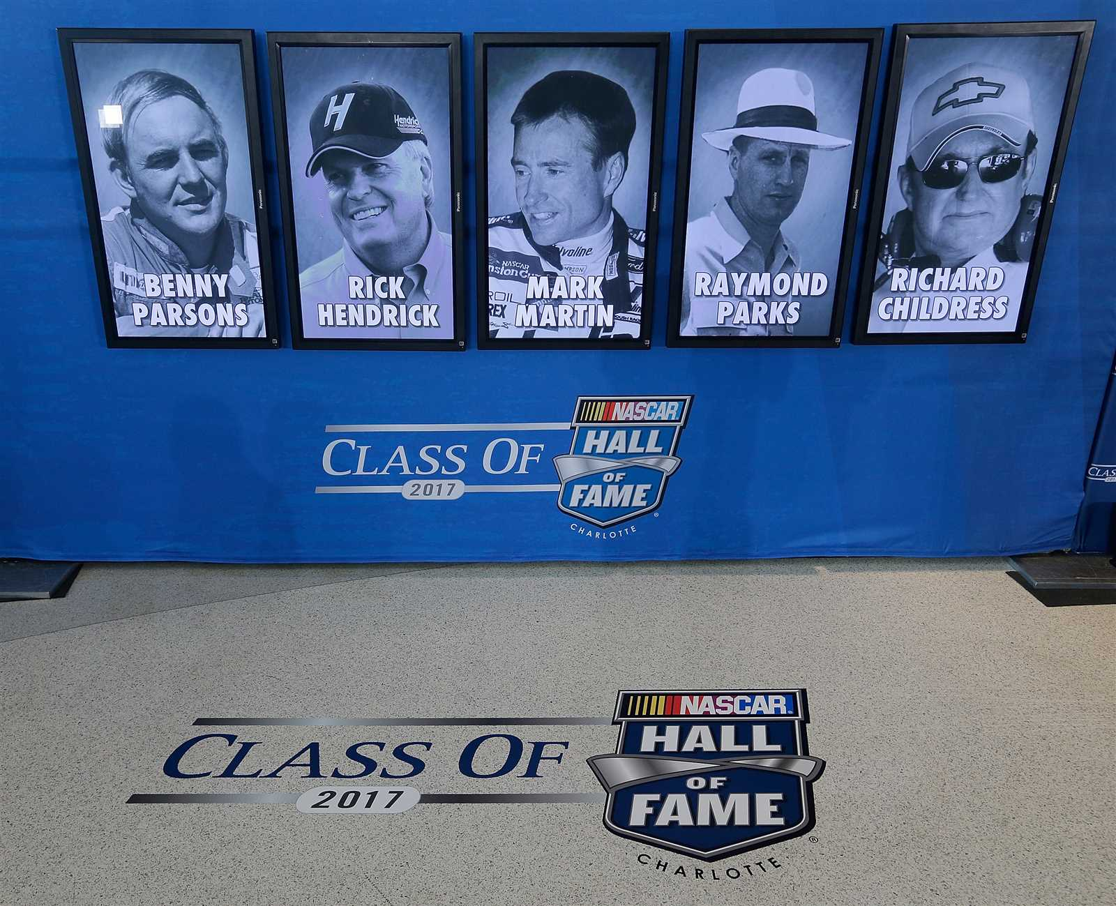 hall of fame 2017 inductees official site of nascar