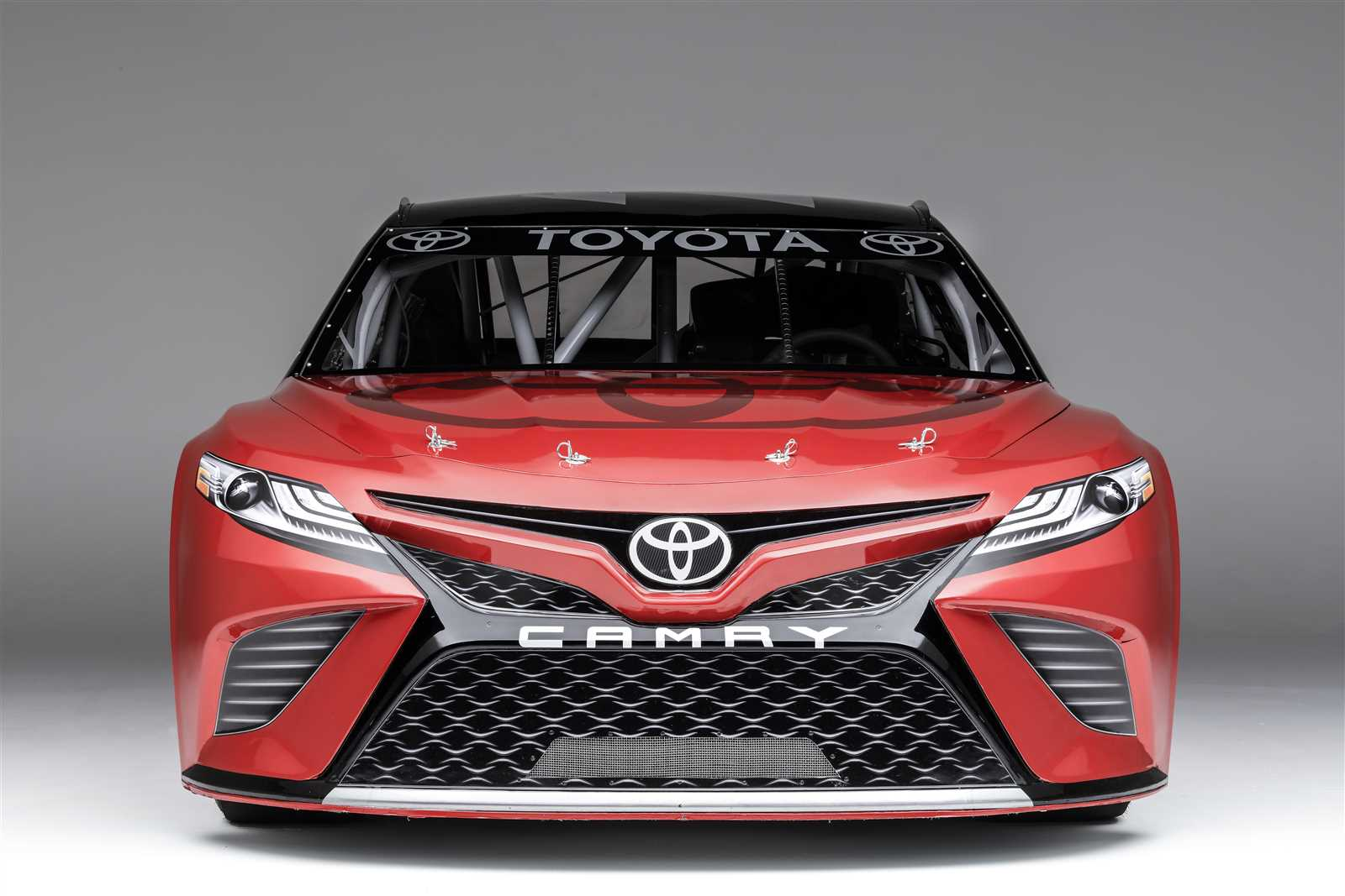 First Look New Toyota Race Car Official Site Of NASCAR - Toyota show car
