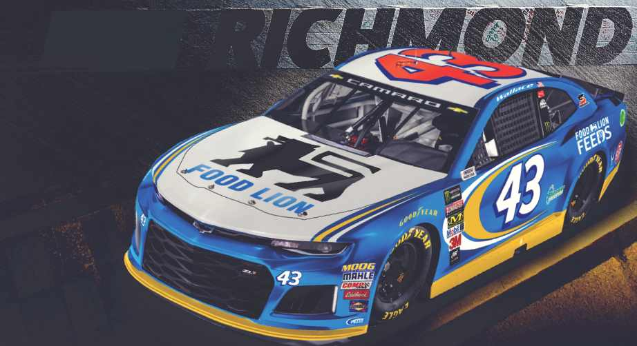 Nascar Paint Scheme Preview Richmond 1 2018 Official Site Of Nascar